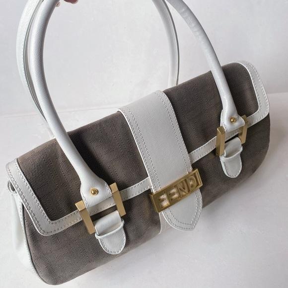 Fendi Handbags - Rare Fendi calfskin satchel